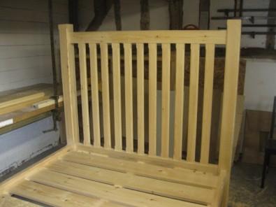 new wood frame