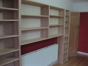 custom shelves in southampton